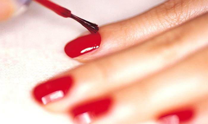 KV Nail Salon - Chandler: One or Two Basic or Shellac Mani-Pedis at KV Nail Salon (Up to 51% Off)