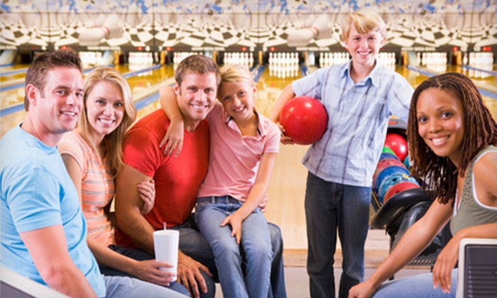 Maple Family Centers - Multiple Locations: $25 for Bowling Night for Up to Three at Maple Family Centers (Up to a $65.50 Value)