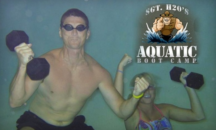 Aquatic Boot Camp - Multiple Locations: $75 for Four Weeks of Land or Water Boot Camp at Aquatic Boot Camp ($180 Value)