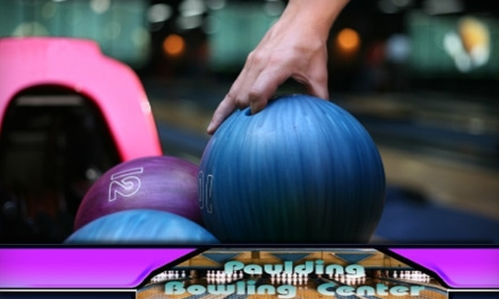 Paulding Bowling Center - Dallas: $5 for Three Games, Shoe Rental, and Junior Popcorn at Paulding Bowling Center in Dallas