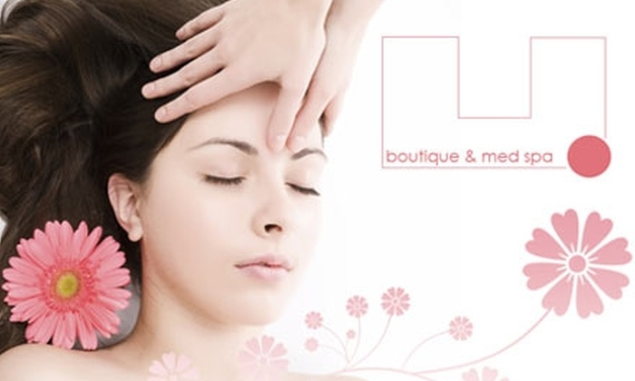 U. Boutique & Med Spa  - Plano: $69 for a Facial with Peel or a 50-Minute Massage with Reflexology Foot Treatment from U. Boutique & Med Spa (Up to $170 Value)