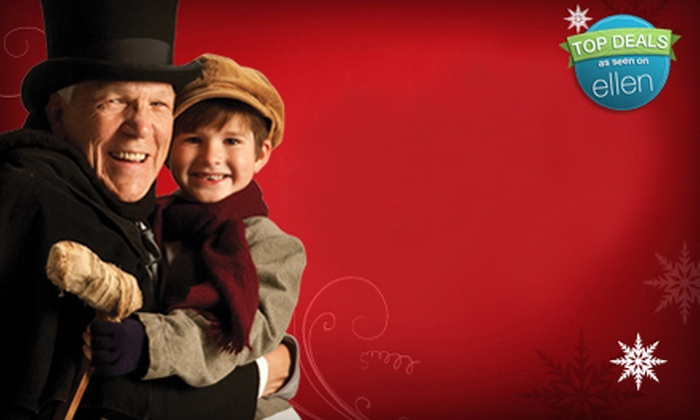 """A Musical Christmas Carol - Downtown: $20 for One Ticket to """"A Musical Christmas Carol"""" at Byham Theater on December 9, 10, or 11 (Up to $46.75 Value)"""