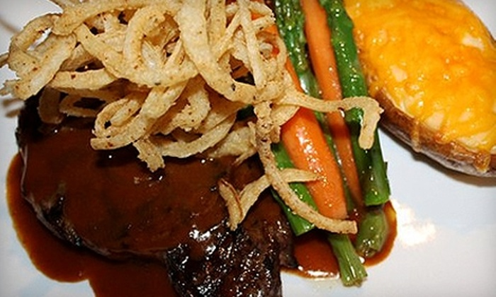 Gage's Steak House - Guthrie: $17 for $34 Worth of Steak, Seafood, and More at Gage's Steak House