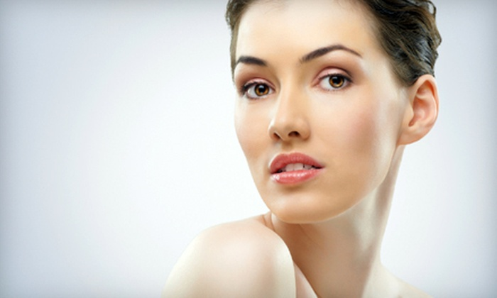 Newfound Beauty - Multiple Locations: $39 for a Nonsurgical Microcurrent Face-Lift at Newfound Beauty ($100 Value). Two Locations Available.