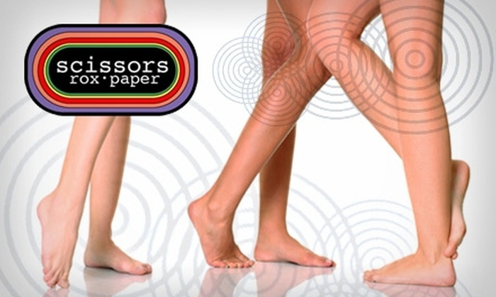Scissors Rox Paper Salon - Paradise Valley: $40 for a Half-Leg Wax and a Brazilian or Bikini Wax from Scissors Rox Paper Salon