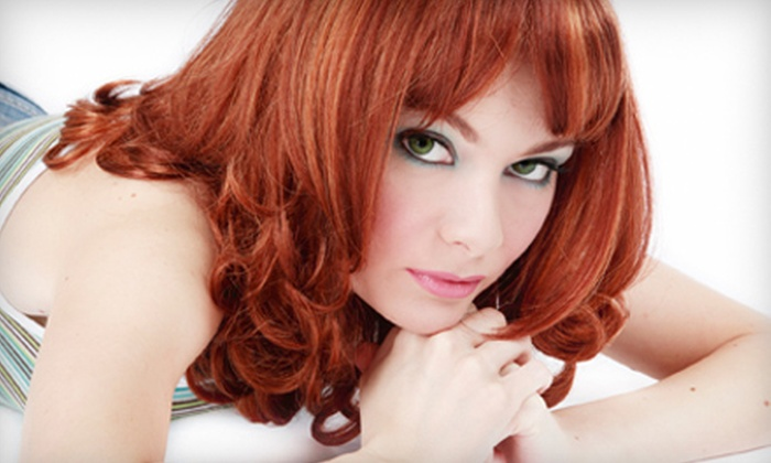 Amiche Capelli Salon of Style - Toledo: Hair Coloring or Facial-Waxing Services at Amiche Capelli Salon of Style