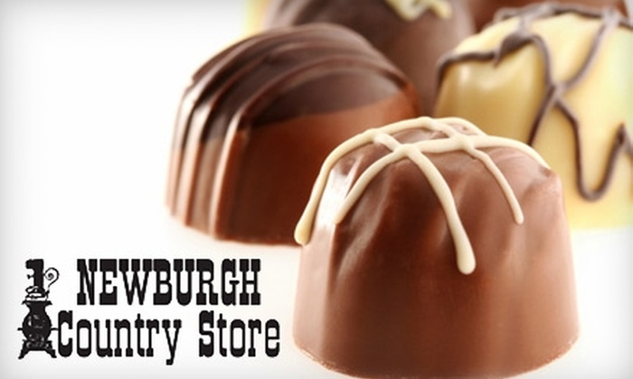 Newburgh Country Store - Newburgh: $10 for a 1-Pound Gift Box of Assorted Premium Chocolates at Newburgh Country Store
