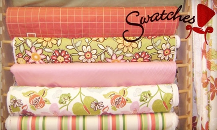 Swatches - Symmes: $40 for $80 Worth of Fabric, Trim, or Drapery Hardware at Swatches