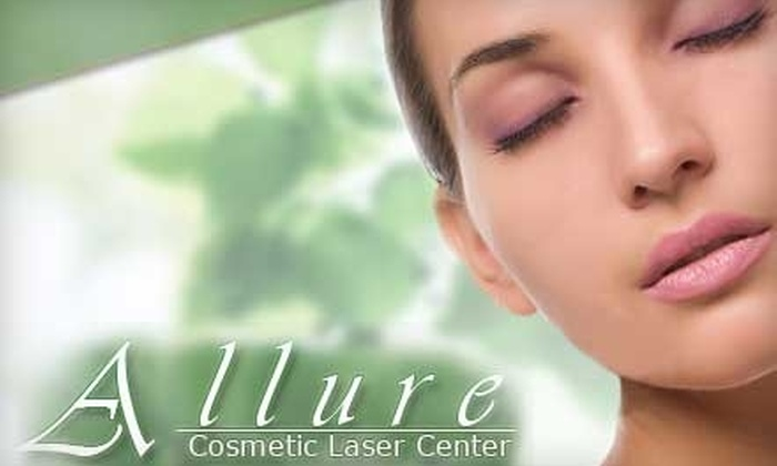 Allure Cosmetic Laser Center - The Lakes/Country Club: $89 for Three Laser Hair-Removal Treatments at Allure Cosmetic Laser Center (Up to $400 Value)