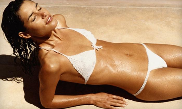 Ashley Lynn's Tanning - Multiple Locations: 10 Level 1 Tans or 2 Spray Tans at Ashley Lynn's Tanning (Up to 67% Off)