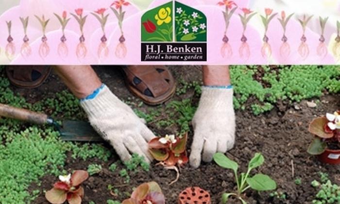 Benken Florist and Garden Center  - Silverton: $15 for $30 Worth of Garden Plants at Benken Florist and Garden Center