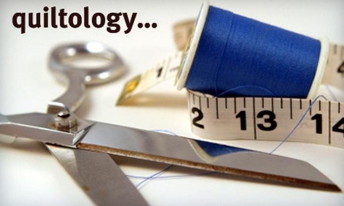 Quiltology Design Studio - Chicago: $50 for a Sewtology 101 Class at Quiltology Design Studio ($100 Value)