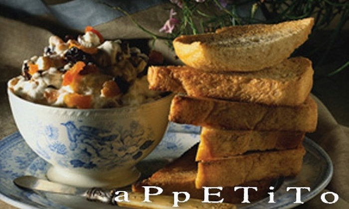 Appetito - Newton Center: $25 for $50 Worth of Italian Dinner at Appetito in Newton Center (or $10 for $20 Worth of Lunch)