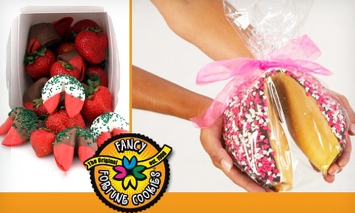 Fancy Fortune Cookies - Calgary: $15 for $35 Worth of Wise Desserts at Fancy Fortune Cookies