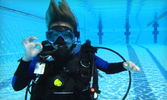 Dive Utah - Holladay: $159 for a Scuba-Certification Class at Dive Utah in Holladay ($275 Value)