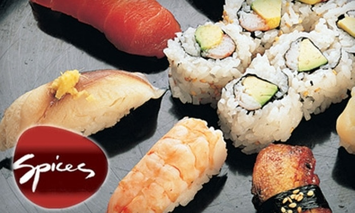 Spices Asian Restaurant and Sushi Bar - Cleveland Park: $15 for $30 Worth of Asian Cuisine at Spices Asian Restaurant and Sushi Bar