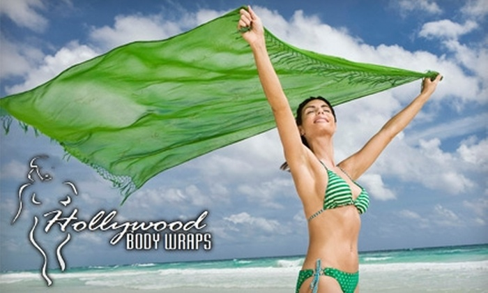 Hollywood Body Wraps - Multiple Locations: Cleansing Treatments and Body Wraps at Hollywood Body Wraps. Three Options Available.