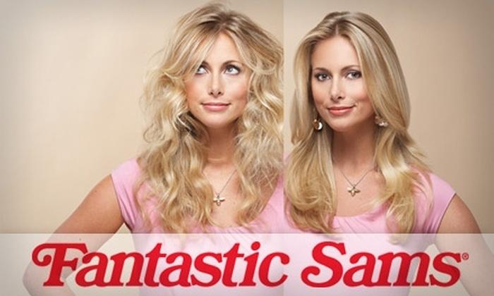 Fantastic Sams Hair Salon  - Multiple Locations: $40 Haircut, Style, Full Highlights, and Deep Conditioning at Fantastic Sams Hair Salon