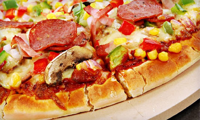 Cousins Pizza Pub - Hanover Park: $15 for $30 Worth of Pizza, Salads, Sandwiches, and Drinks at Cousins Pizza Pub in Roselle
