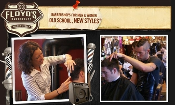 Floyd's 99 Barbershop - Ellicott City: $19 for Two Men's Floyd's Haircuts at Floyd's 99 Barbershop