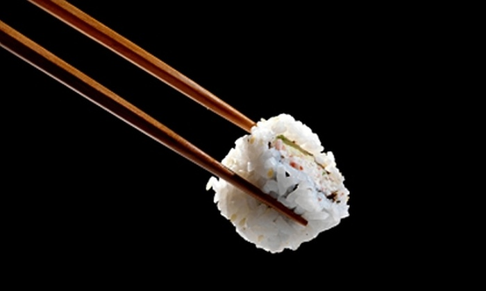 Shonos in City - Downtown Knoxville: $15 for $30 Worth of Japanese Cuisine at Shonos in City