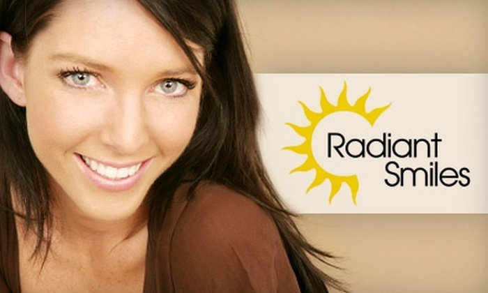 Radiant Smiles - Multiple Locations: $159 for a Zoom! Whitening Treatment Plus Exam, Cleaning, and X-rays from Radiant Smiles