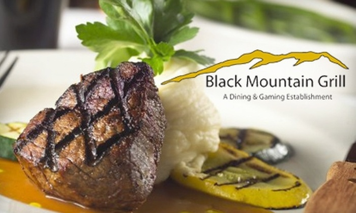 Black Mountain Grill - Las Vegas: $20 for $40 Worth of Upscale Fare and Drinks at Black Mountain Grill in Henderson