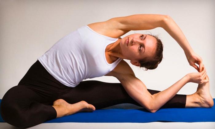 The Yoga Room of Redlands - West Redlands: $25 for 10 Yoga Classes at The Yoga Room of Redlands ($110 Value)