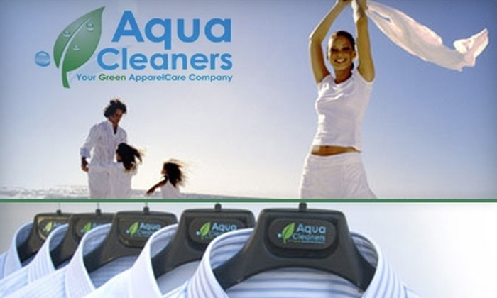 Aqua Cleaners - North Los Altos: $20 for $40 Worth of Eco-Friendly Dry Cleaning at Aqua Cleaners