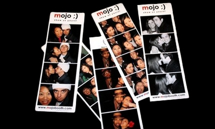 Mojo Booth Cleveland - Brooklyn: $370 for a Four-Hour Photo-Booth-Rental Package from Mojo Booth Cleveland ($745 Value)