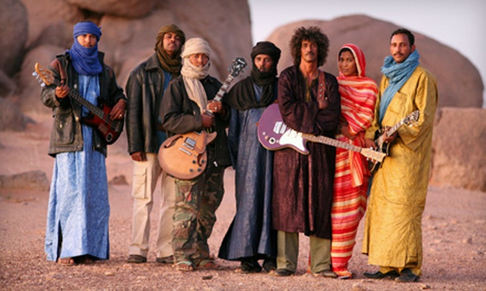 Tinariwen at Fitzgerald's - Greater Heights: One Ticket to See Tinariwen at Fitzgerald's on November 6 at 8 p.m. (Up to $32.81 Value)