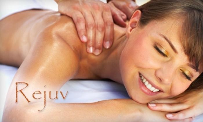 Rejuv Aveda Lifestyle Salon Spa - Modesto: $35 for a One-Hour Aromatherapy Full-Body Massage at Rejuv Aveda Lifestyle Salon Spa ($78 Value)
