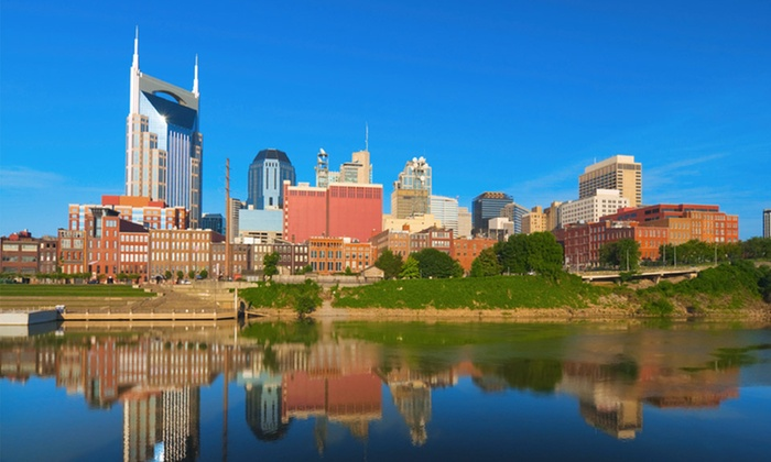 null - Nashville: Stay with Daily Dining Credit at Sheraton Music City Hotel in Nashville. Dates Available into February.