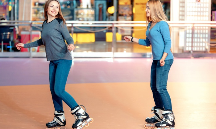 Interskate 91 South - Wilbraham: $30 for Family Fun Pack for 4 with Roller Skating, Laser Tag, and Game Tokens (Up to $75 Value)
