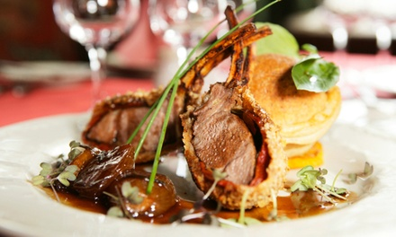 Regionally Inspired Fine Dining at the Holly Hotel (Up to 44% Off). Two Options Available.