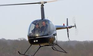 HELI HORIZON: Initiation au pilotage d'un hélicoptère à 199 € chez Héli Horizon