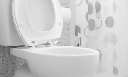One or Two White Soft Close Toilet Seats
