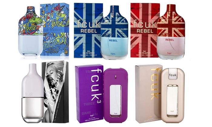 FCUK 100ml Eau de Toilette or Eau de Parfum Spray for Him or Her (£9.40)