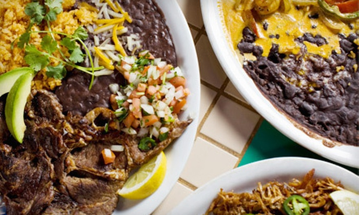 Los Yonic's Mexican Restaurant - Grant: $17 for $35 Worth of Mexican Dinner Fare at Los Yonic's Mexican Restaurant