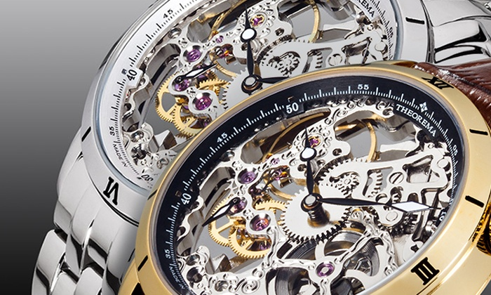 Theorema Horloges In 8 Kleuren Groupon Goods