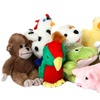 Multipet Look Who's Talking Assorted Plush-Toy Animals (3-Pack)