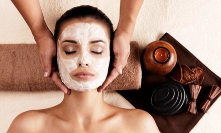 Anti-Aging Facial, or a Massage, Footbath, and Optional Organic Facial at Senses Holistic Spa (Up to 53% Off)