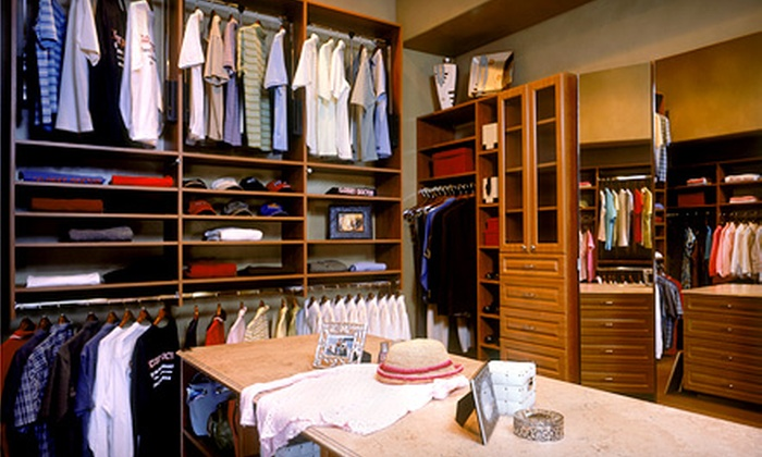 The Closet Doctor - Lincoln: $199 for Closet Design and Organization Makeover for a 6-Foot Reach-In Closet from The Closet Doctor ($500 Value)
