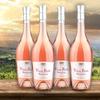 62% Off Four Bottles of Rosé