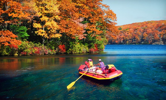 New England Outdoor Center - New England Outdoor Center: Fall-Foliage Whitewater Rafting for Two or Four, Including Lunch, from New England Outdoor Center (Up to 55% Off)