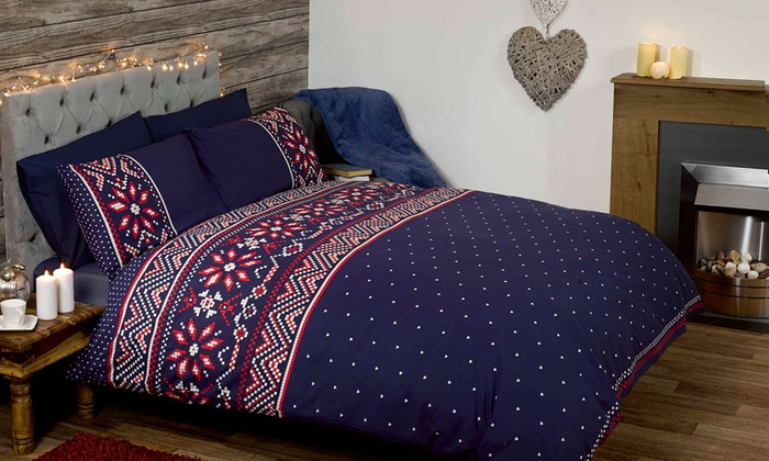 Festive Duvet Sets and Throws | Groupon Goods