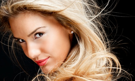 Haircut, Blow-Dry, and Styling with Optional Color or Partial Highlights at Bahama Salon & Spa (Up to 57% Off)