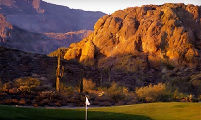 Mountain Brook Golf Club - Gold Canyon: $15 for Round of Golf, Cart Rental, and Bucket of Range Balls at Mountain Brook Golf Club in Gold Canyon ($37 Value)
