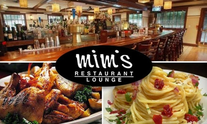 Mim's - Roslyn Heights: $20 for $50 Worth of Steaks, Pastas, and More at Mim's