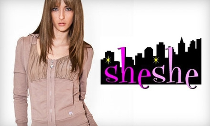 She She - Woodward Park: $25 for $50 Worth of Women's Apparel at She She